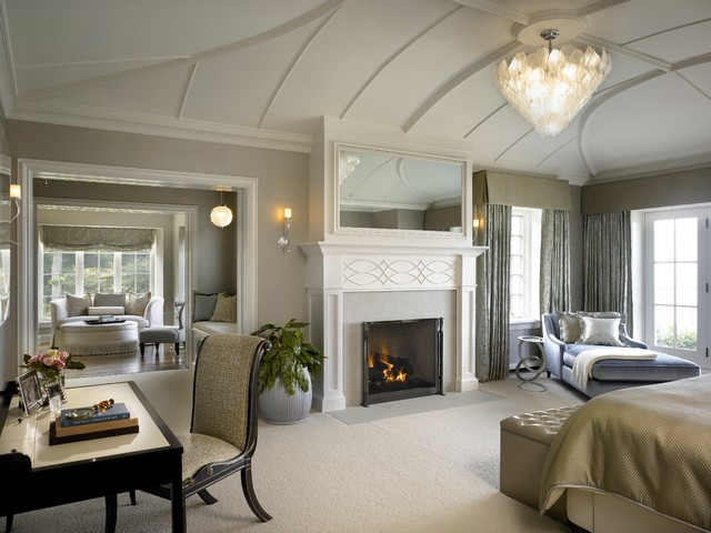 traditional bedroom by Morgante Wilson Architects