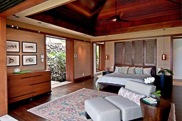 Hawaiian Style Bedroom: Hokulia Resort Residence