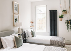 How to Warm Up a Neutral Bedroom