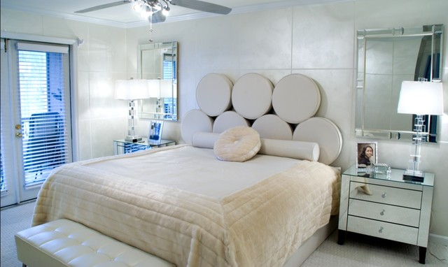 Hollywood Glam Modern Bedroom
