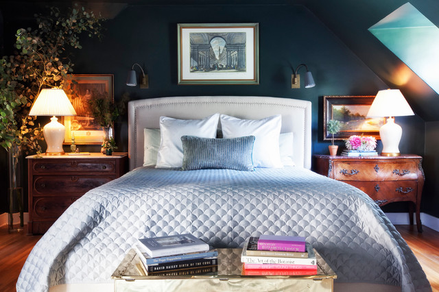 Hollywood Hills Bedroom Redesign traditional-bedroom