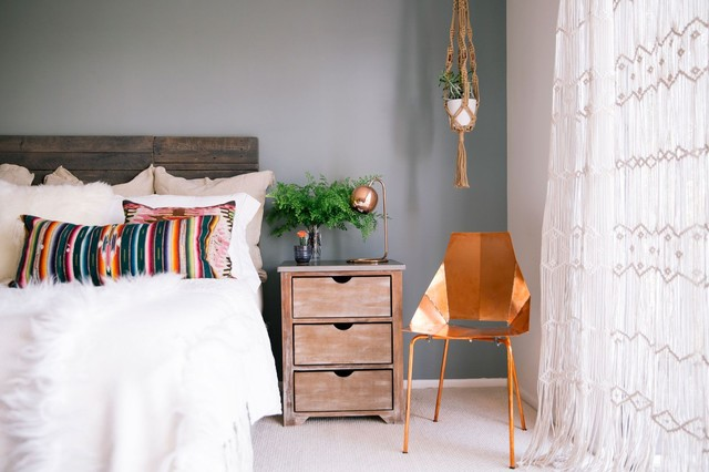 Hollywood Hills eclectic-bedroom