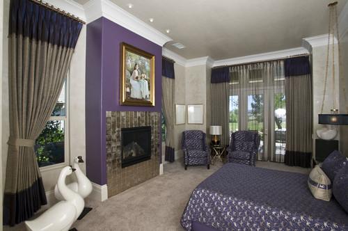 Light Grey And Purple Living Room - Euskal.Net