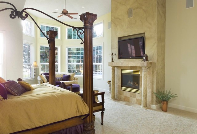 Home Addition traditional bedroom