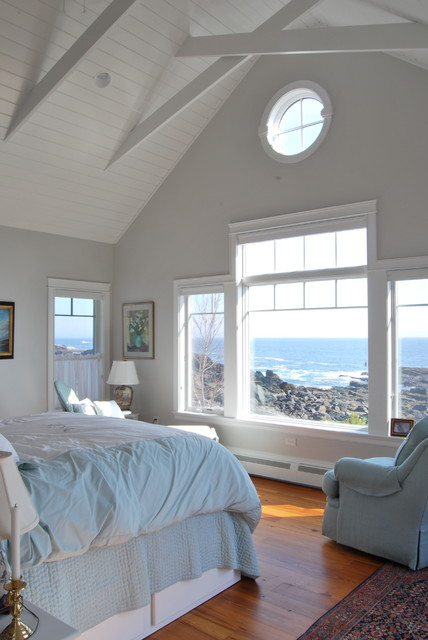 Home By The Sea Beach Style Bedroom Portland Maine