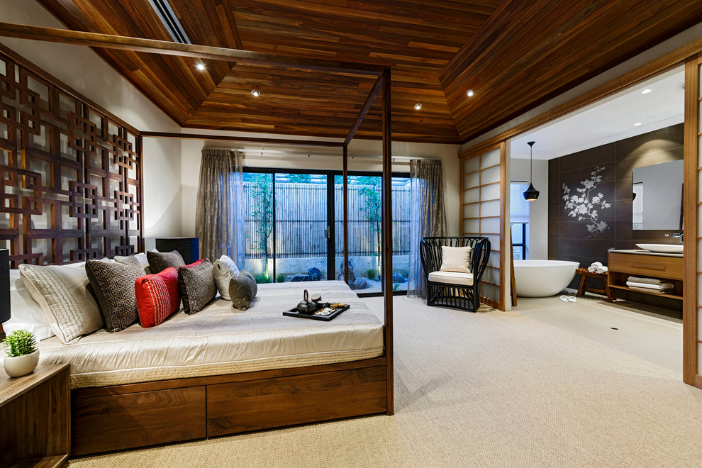 Home Design The Azumi Asian Bedroom Perth By