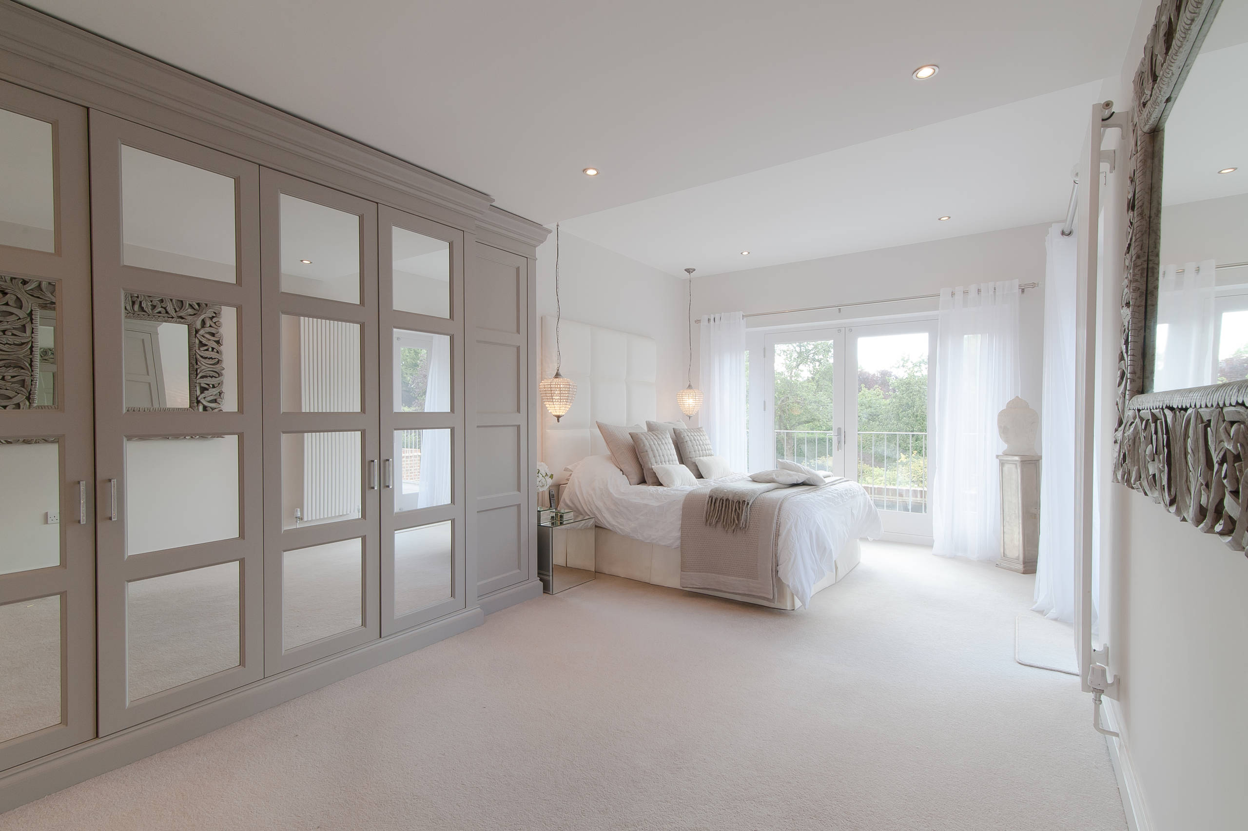 Grey Cream Bedroom Ideas And Photos  Houzz