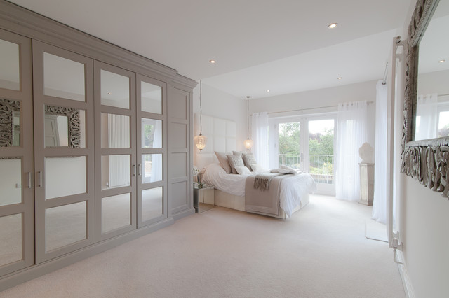 default houzz image - Cream Bedroom Ideas