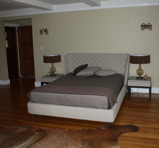 Home Staging, 27 Tudor Rd, Chestnut Hill contemporary-bedroom