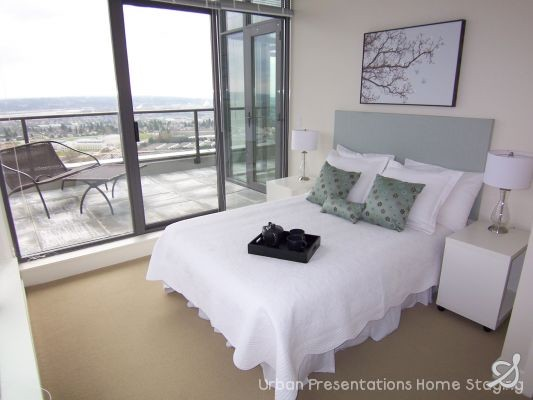 Home Staging by Urban Presentations Home Staging, Vancouver contemporary-bedroom