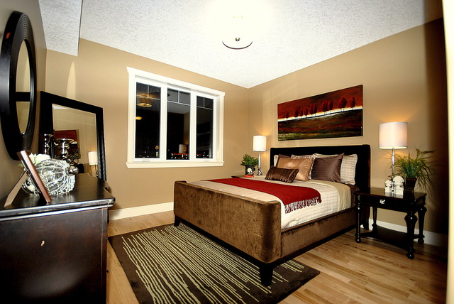 staging a bedroom. Home Staging for Bedrooms in Vacant Properties listed For Sale Edmonton  AB modern