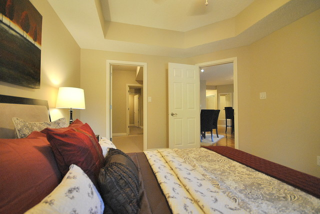 Home Staging in Vacant Properties for Sale in Edmonton, AB modern-bedroom