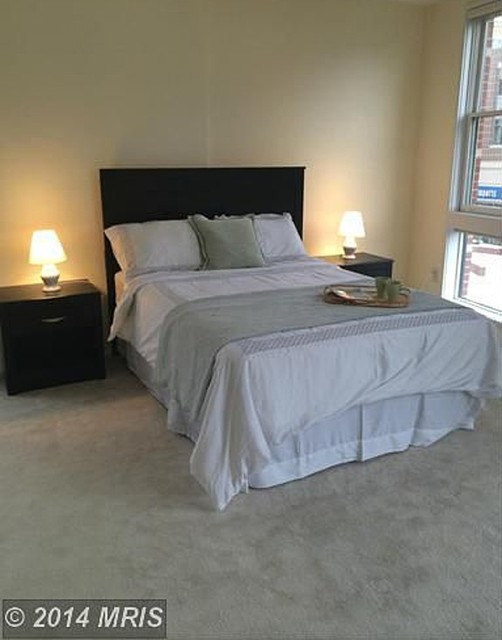 Home staging master bedroom after Master bedroom home staging