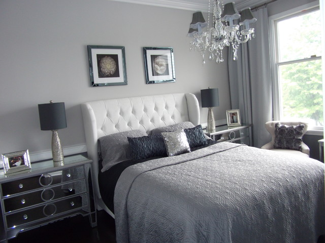 Home Staging New jersey, Home Stager, Grey, Silver, Real Estate Home Staging modern bedroom