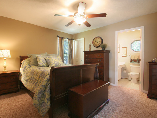 Home Staging Traditional Bedroom Louisville By Set