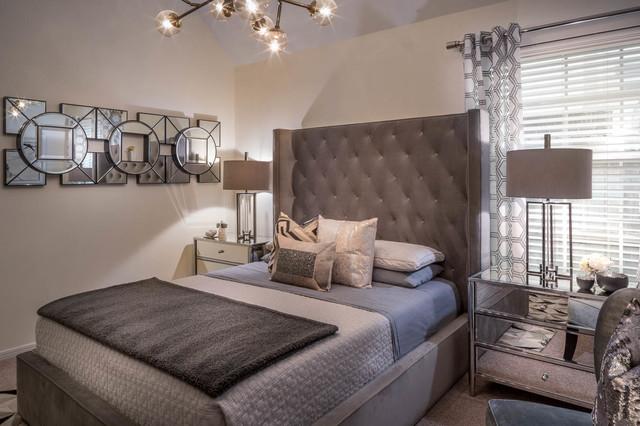 Contemporary Bedroom Houston