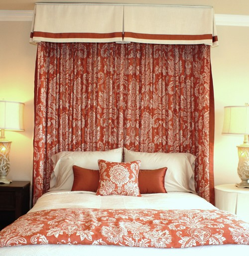 Traditional Interior Designers In Chicago: The Cluny Chronicles: On My Mind: Bed Coronas And Half