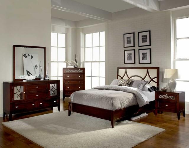 homelegance simpson bedroom set - transitional - bedroom - new york