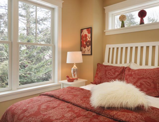 Homes Under 700 sq feet contemporary-bedroom