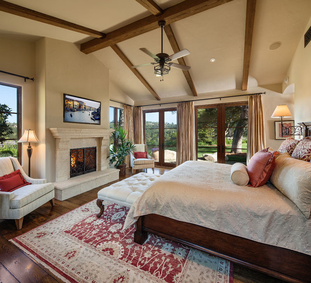 This Spacious Five Bedroom Spanish Mediterranean Style: Hope Ranch Spanish Revival