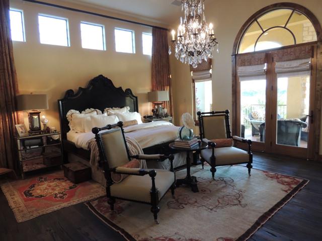 Horseshoe bay Lake Austin Texas mediterranean-bedroom