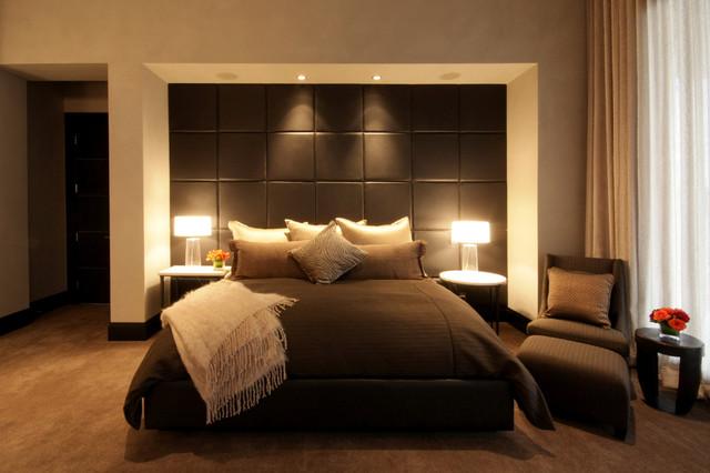 Horseshoe Bay Lakehouse Bedroom contemporary-bedroom