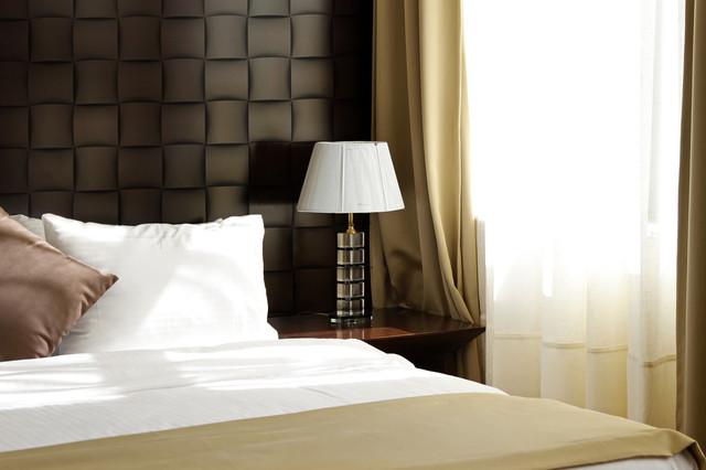 HOTEL BEDROOM - Contemporary - Bedroom - Miami - by 3DWALLS.COM..... STUNNING PLASTER WALL PANELS