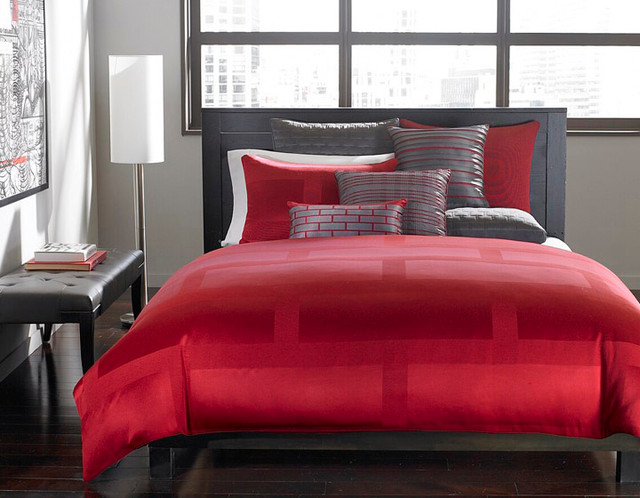 Hotel Collection Bedding Red Frame Lacquer Collection