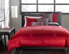 Hotel Collection Bedding, Red Frame Lacquer Collection contemporary bedroom