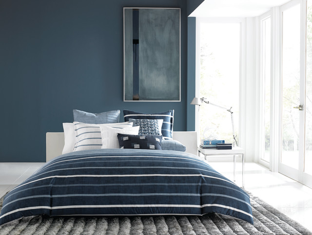 Hotel Collection Colonnade Blue Bedding Collection