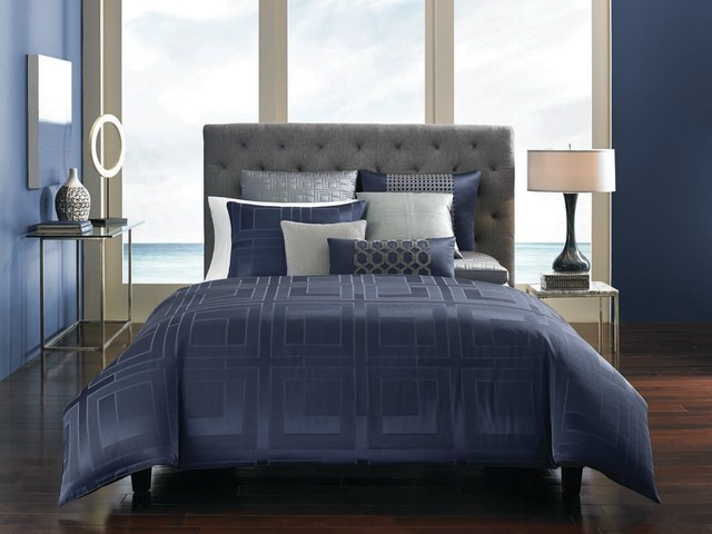 Hotel Collection Quadre Blue Collection Contemporary