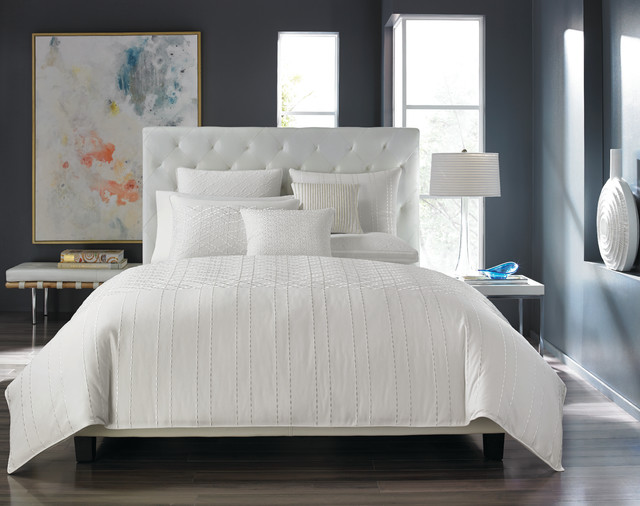 Hotel Collection Sonnet Bedding Collection Contemporary Bedroom New York By Hotel Collection