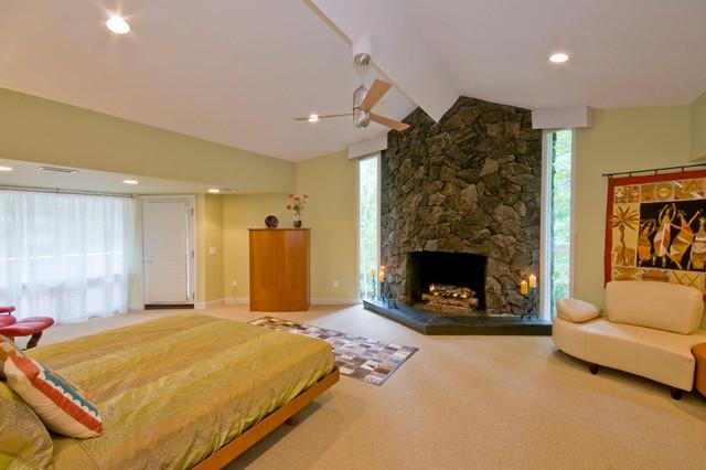 Houmann's  residence contemporary-bedroom