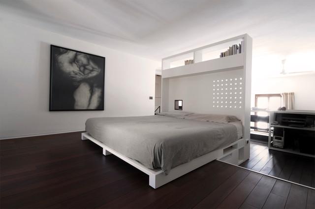 House bb p contemporaneo camera da letto milano di d bm architetti associati - Camera da letto milano ...