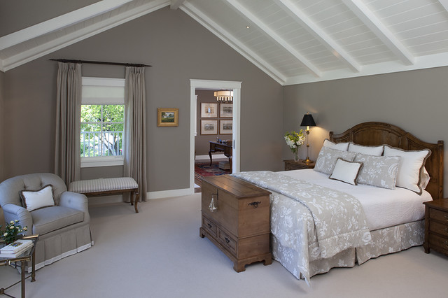 House in Sonoma traditional bedroom