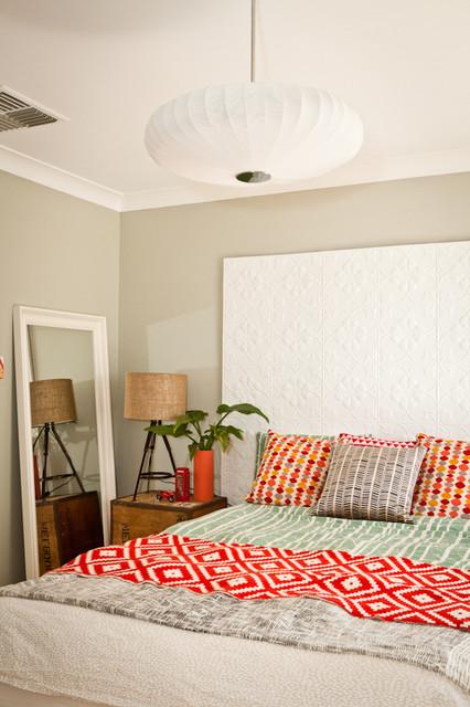 House Nerd Blogger's Quirky Retreat eclectic-bedroom