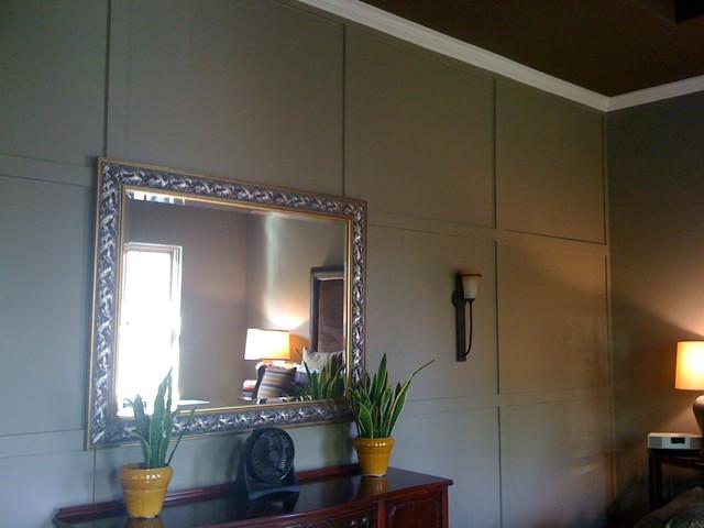 Houston New Contsruction bedroom
