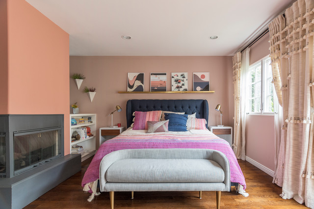 50 Out-of-the-Box Ideas for Bedroom Accent Walls