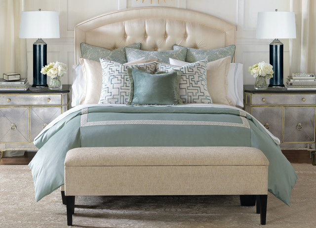 How To Dress Your Bed Transitional Bedroom Miami By Robb
