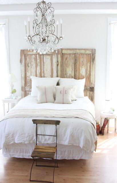 http://dreamywhites.blogspot.com/ shabby-chic-style-bedroom