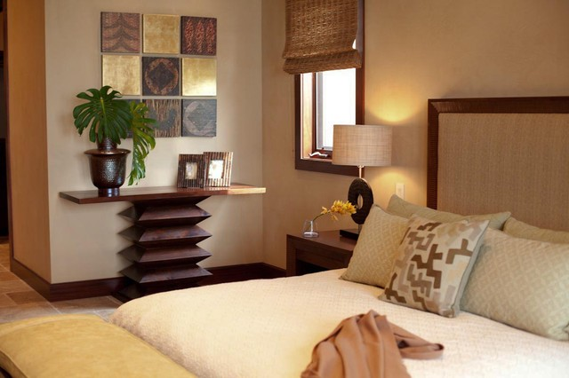 hualalai earthy haven modern bedroom hawaii by