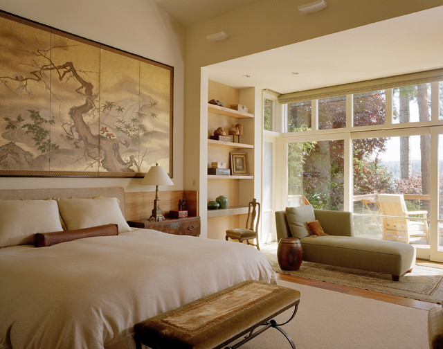 Hunts Point Transitional Bedroom Seattle By