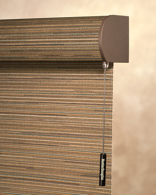Hunter Douglas AlustraR Woven TexturesR Roller Shades Contemporary Bedroom Other Metro on bathroom vanity cabinet sizes