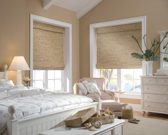 Hunter Douglas Provenance Woven Woods traditional-bedroom