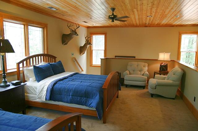Hunting Cabin Rustic Bedroom