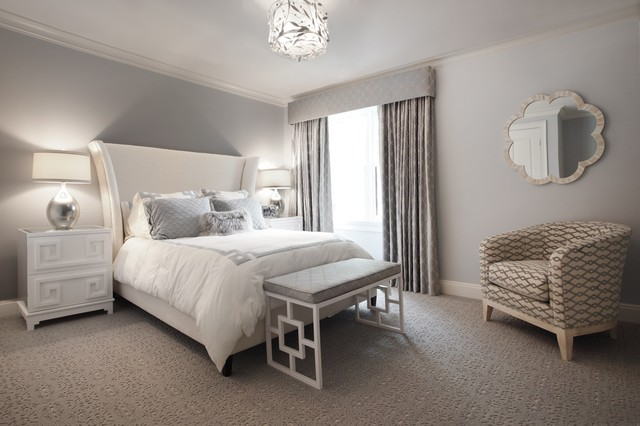 Ibis Court Contemporary Bedroom New York By