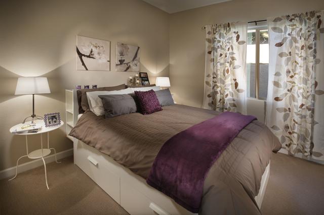 ikea next gen home arizona contemporary bedroom by in house interior design. Black Bedroom Furniture Sets. Home Design Ideas