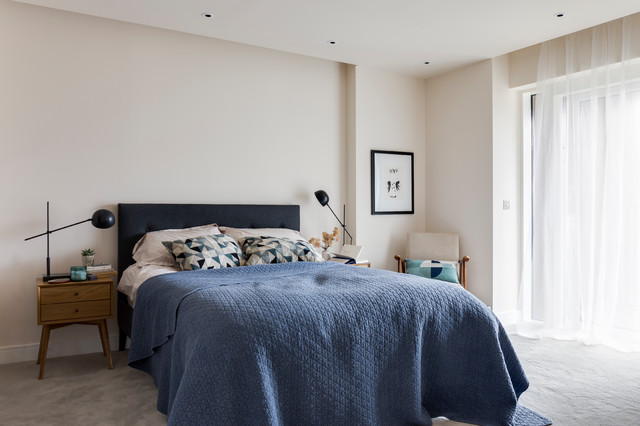 Imperfect Interiors Chelsea Contemporary Bedroom