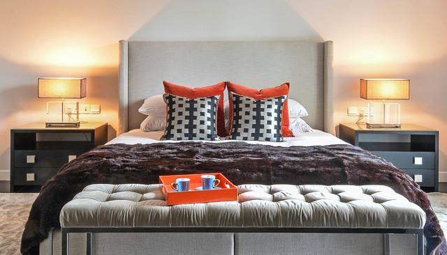 imperial contemporary bedroom