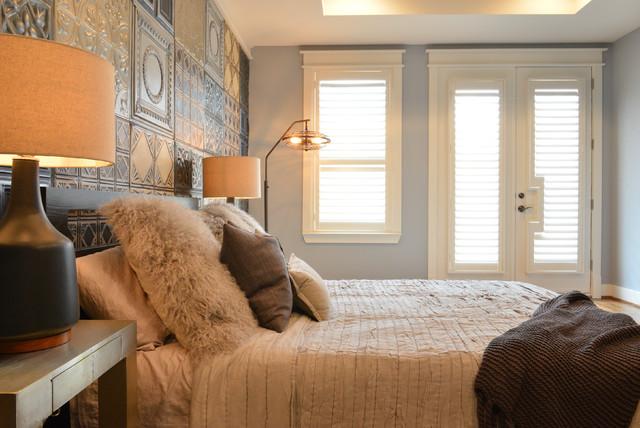 Midtown Bachelor industrial-bedroom